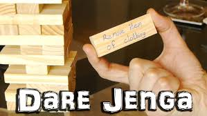 dare jenga party game youtube