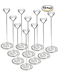 wedding table number holders place cards place card holders home kitchen