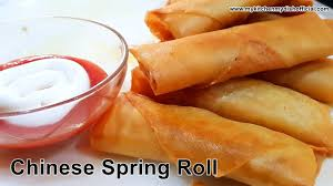 how to make chinese spring roll with spring roll sheet my