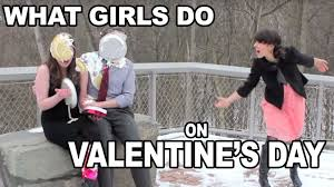 Single On Valentines Day Meme - what single girls do on valentine s day youtube
