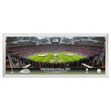 uefa europa league final 2017 large panoramic line up 822 x 348 mm