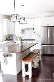 marble countertops kitchen island butcher block lighting flooring