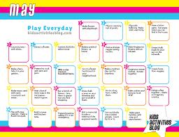 calendar activity for kids calendar template 2017