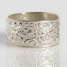 thick wedding bands thick vintage diamond wedding bands lake side corrals