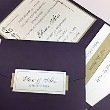 Plain Wedding Invitations Handmade Wedding Invites Stationery Cards Cheap Wedding
