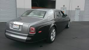 matte gray rolls royce rolls royce phantom metallic black u2014 incognito wraps