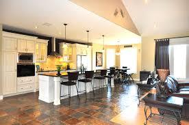 plain open kitchen living room floor plan design amusing and g