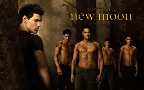 posters moon wolves twilight wolf pack muscles lautner