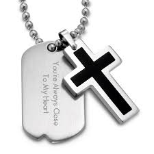 engraved dog tags for men engraved dog tags pendants at things remembered