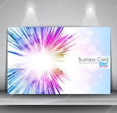 elegant business card design template u2014 stock vector davidarts