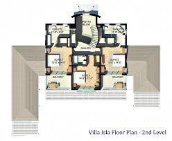 floor plan u2013 4 2 million luxury villa isla u2013 providenciales