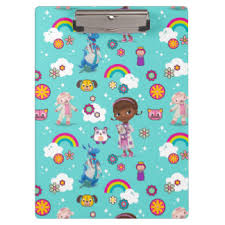 doc mcstuffins wrapping paper hospital clipboards form holders zazzle