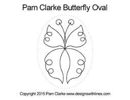 designs by pam clarke ovals my creative stitches