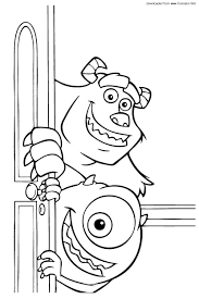 Full Size Of Monsters Inc Coloring Pages Free Receptionist Nick Jr Nick Jr Coloring Pages