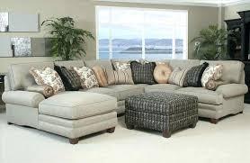 Custom Leather Sectional Sofa Chaise Home Custom Upholstery Medium U Shaped Sectional Tan