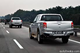 mitsubishi trucks 2015 test drive review mitsubishi triton vgt lowyat net cars