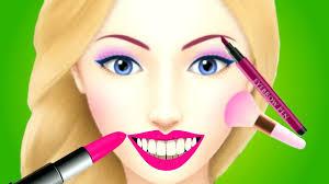 Makeup Hair Salon Fun Care Angelina U0027s Pop Star Salon Kids Games Beauty Spa Make Up