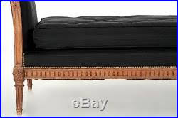19th century sofa styles french louis xvi style carved fruitwood antique daybed sofa 19th