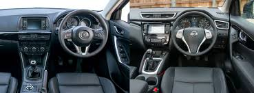 mazda cars uk nissan qashqai vs mazda cx 5 side by side uk comparison carwow