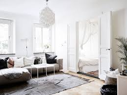 this small scandinavian space has major chic factor scandinavian