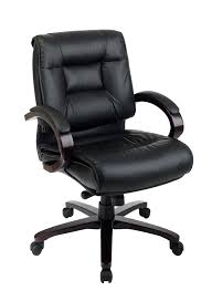 Simple Office Chairs Interesting Office Chair Design Ideas Featuring Black Leather