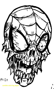 free printable zombie images zombie coloring pages with spiderman ribsvigyapan com coloring