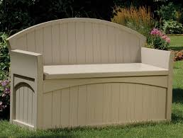 Diy Backyard Storage Bench by Patio Storage Bench Treenovation