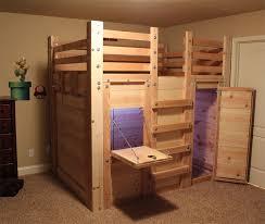 Fort Bunk Bed Loft Bed Plans The Bed Fort Bed Forts Pinterest Loft