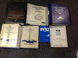 100 ford factory repair manuals ford ranger workshop u0026