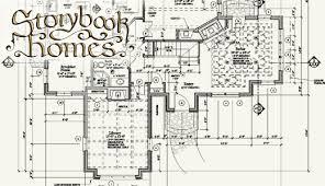 cottage home floor plans storybook cottage house plans pretentious idea 9 homes plan sets