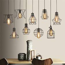 wire cage l shade metal light shades s l 300 wonderful is loading vintage industrial