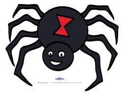 Halloween Decoration Printables by Printable Halloween Spiders