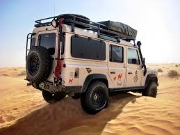 jaguar land rover defender land rover defender 110 very well sorted for overland travel