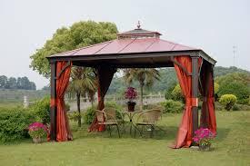 furnish irresistible backyard creations gazebo getaways u2014 the