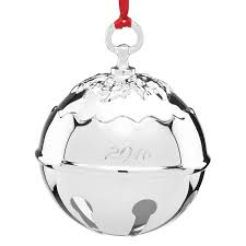 silver bell ornament reed and barton ornament