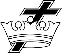 cross crown worldvectorlogo