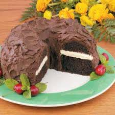 chocolate cake with peanut butter filling recipe taste of home