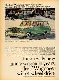 custom kaiser jeep 1964 ad kaiser jeep wagoneer four wheel drive snow able original