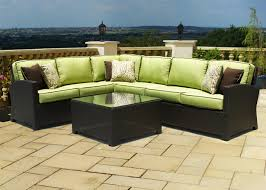 Patio Furniture Sectional Seating - patio wonderful outdoor patio sectional design outdoor loveseat