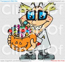 halloween candy background royalty free rf clipart illustration of a trick or treating mad