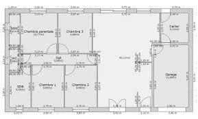 plan maison plain pied 5 chambres plan de maison 5 chambres plain pied gratuit trendy plan maison