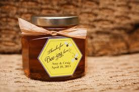 honey favors honey wedding favor happily after honey