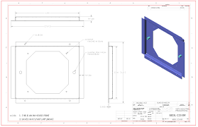 How To Read House Blueprints How To Read A Manufacturing Drawing Vista Industrial Products Inc