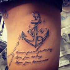 anchor tattoos with quotes pictures to pin on tattooskid
