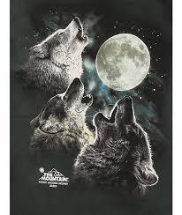 the mountain boys three wolf moon glow t shirt zumiez