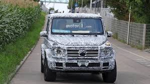 2018 mercedes g class to debut in january at detroit auto show
