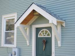 Diy Door Frame by Diy Door Overhang Home Design