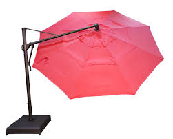 Obravia Treasure Garden Umbrella by Akz13 Plus Cantilever Umbrella Sesame All Things Barbecue