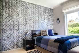bedroom teen boy bedroom decorating ideas in contemporary bedroom alarm clock pillow on blue bedding in boys bedroom with teenage bedroom designs and colour design