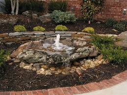 Rock Fountains For Garden 25 Exciting Rock Landscaping Ideas Slodive